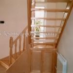 Лестница из дерева (сосна)