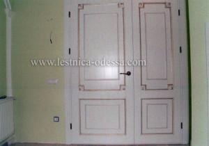 Двойные межкомнатные двери, г. Одесса, изготовление и установка